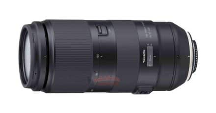Tamron 100-400mm f/4.5-6.3 Di VC USD Lens Leaked!
