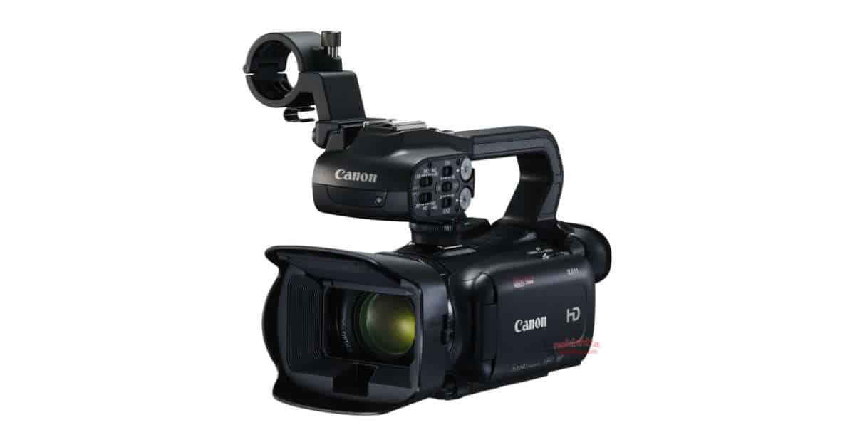 The Canon XF405, GX10, and HD XA11 Camcorders Leak!