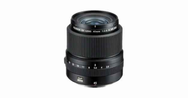 Fuji Announce the GF 45mm F/2.8 R WR