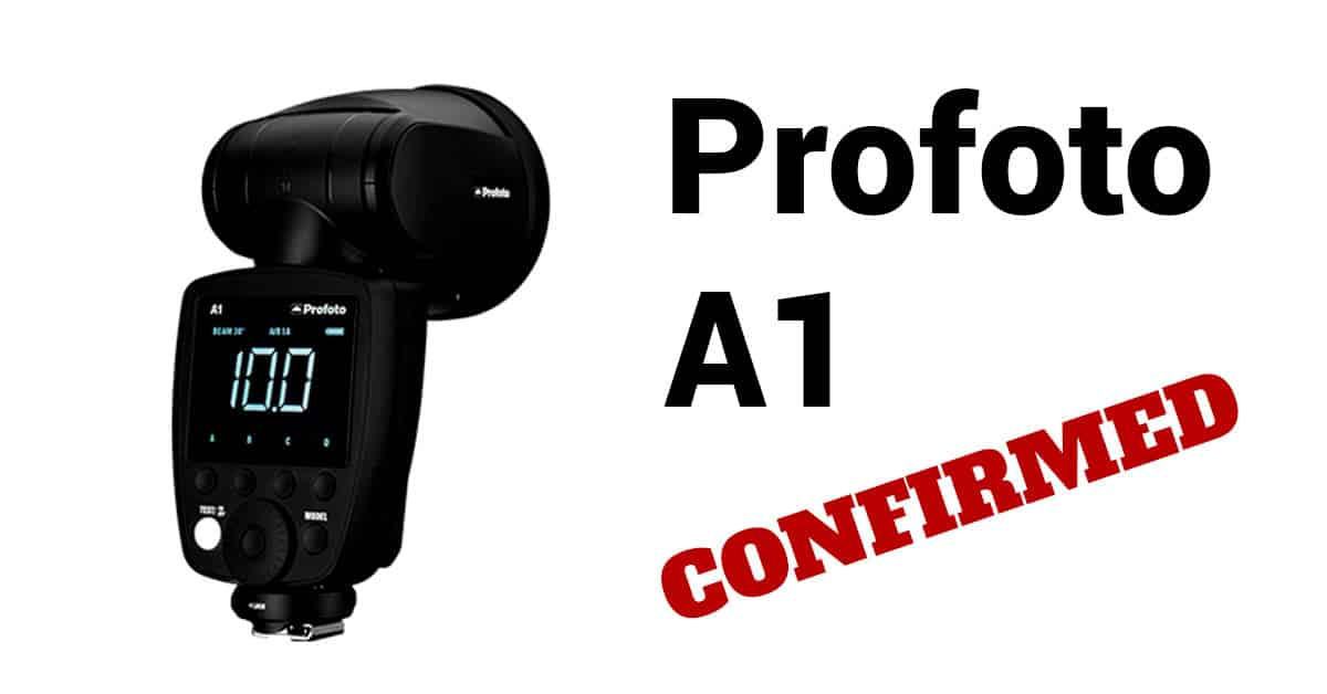 CONFIRMED: Full Profoto A1 Photos and Specs Leaked