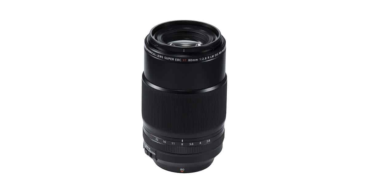 Fuji Unveil the XF 80mm f/2.8 R LM OIS WR Macro Lens