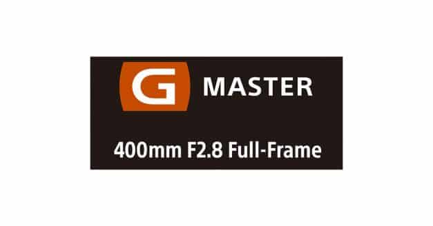 Sony Announce Development of the G Master 400mm F/2.8