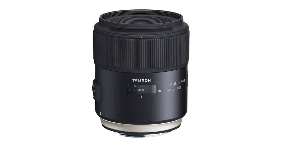 Tamron SP 45mm f/1.8 Di VC USD Only! $399