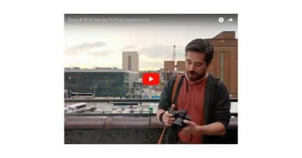 Sony A7R III Hands-On Videos!