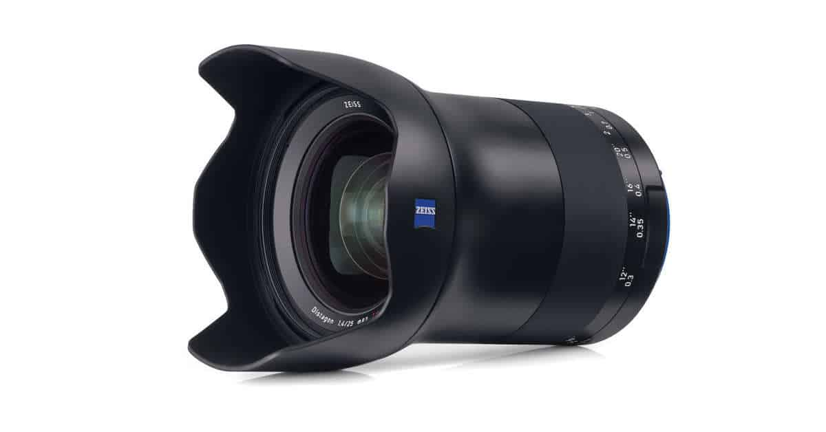 Zeiss Milvus 25mm F/1.4 Officially Announced!
