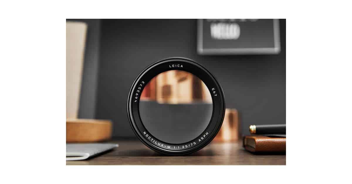 Leica Announce the $12,795 Noctilux-M 75mm f/1.25 ASPH