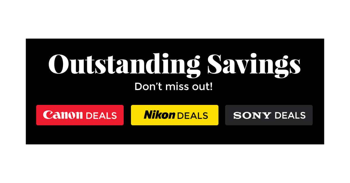 Early Black Friday Deals are GO at B&H Photo!