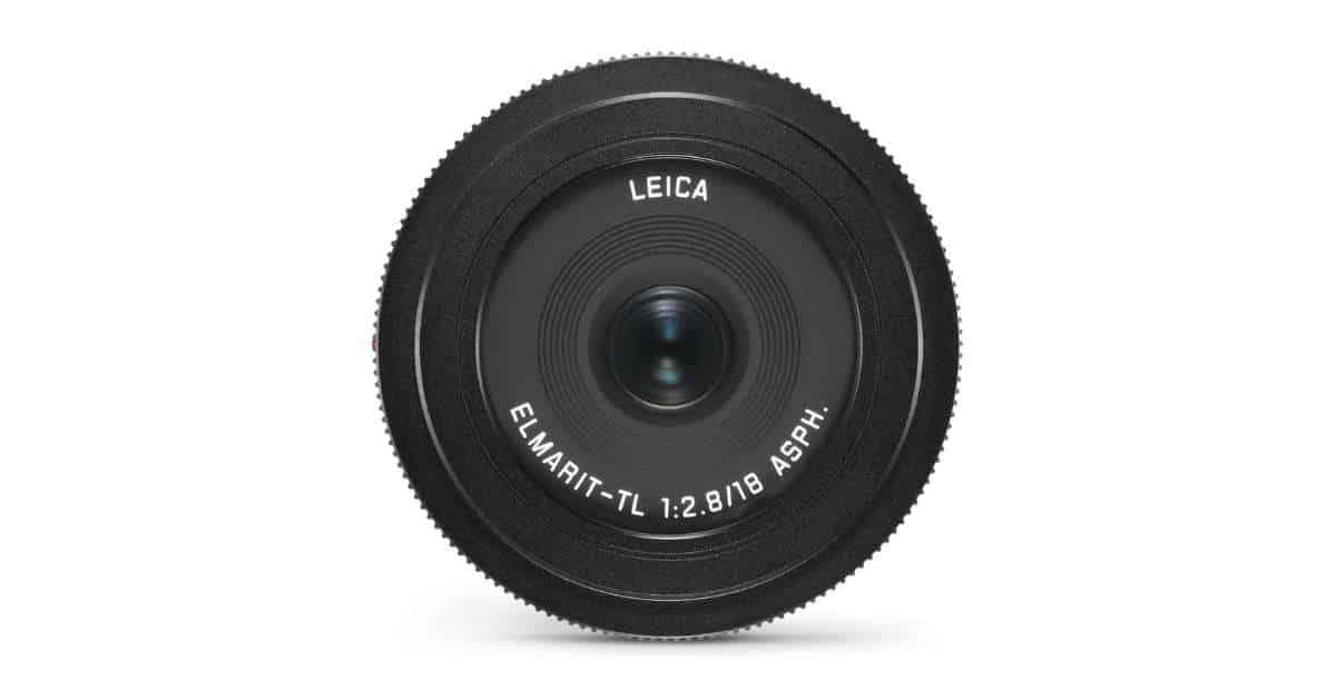 Leica Unveil the Elmarit-TL 18mm f/1.8 ASPH