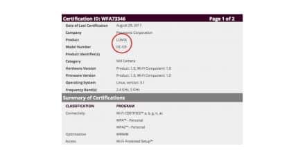 Panasonic Officially Register the G9