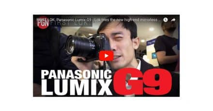 Lok Gets hands on With the Panasonic G9!