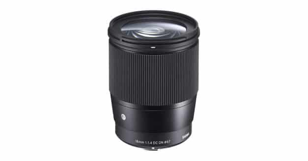 The Sigma 16mm f/1.4 DC DN Contemporary Lens Will Cost….