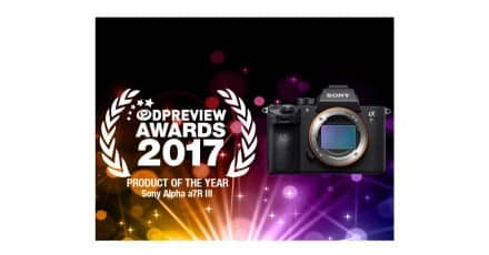 The A7RIII is DPReview's Product of the Year!