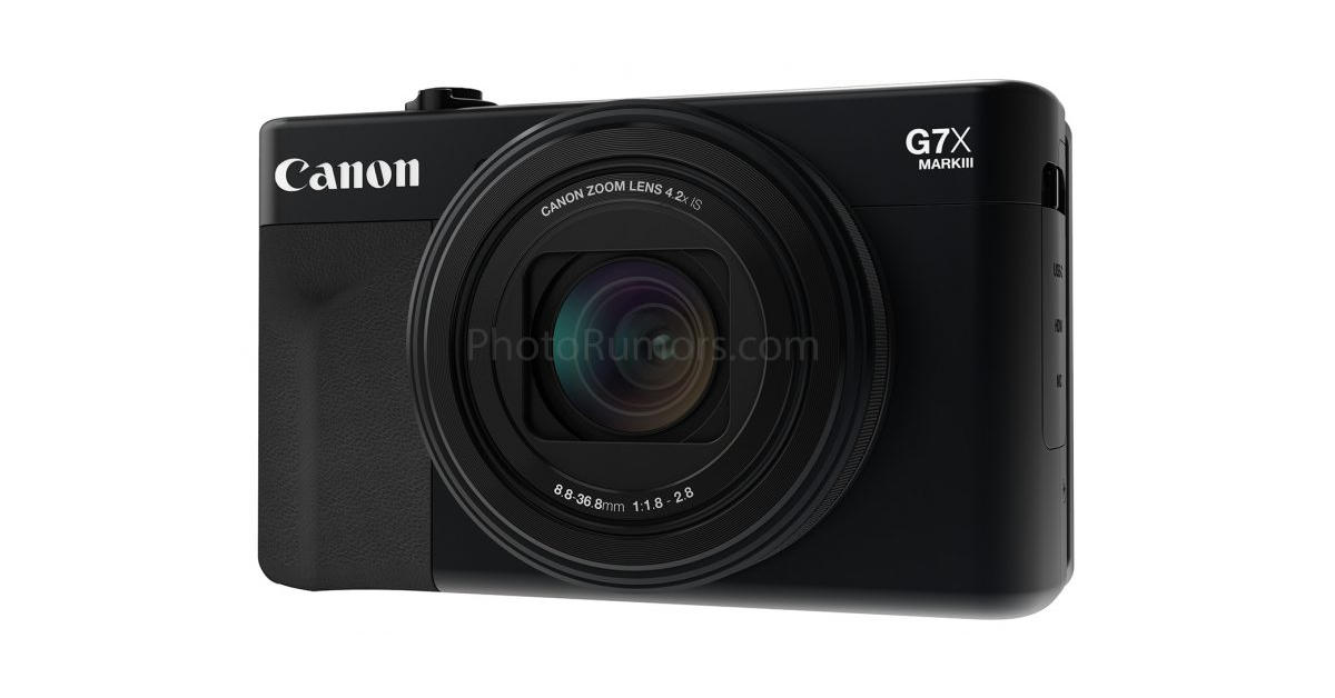Canon PowerShot G7 X Mark III Specification Rumor