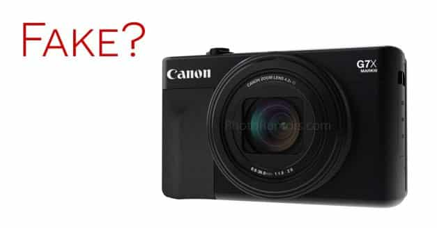 Are the Canon G7X Mark III Photos Fake?