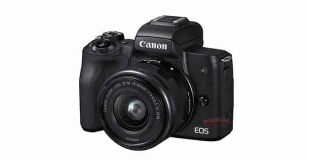 Canon EOS M50 LEAKED