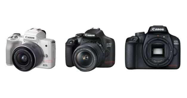 HUGE Canon Leak! EOS M50, EOS 2000D, EOS 4000D