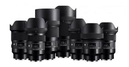 Sigma Will Release 9 ART Primes for Sony E-Mount Cameras