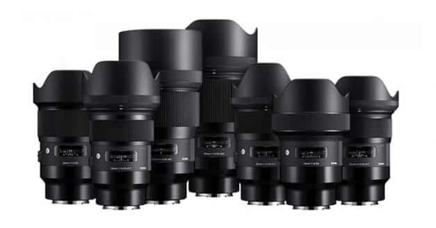 UPDATED: All 9 of Sigmas E-Mount Primes Listed at B&H Photo! Pre-Order NOW