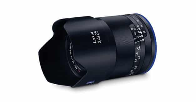 Zeiss Loxia 25mm f/2.4 Officially Announced