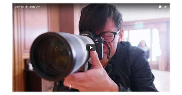 Kai Goes Hands on With the Sony A7 III