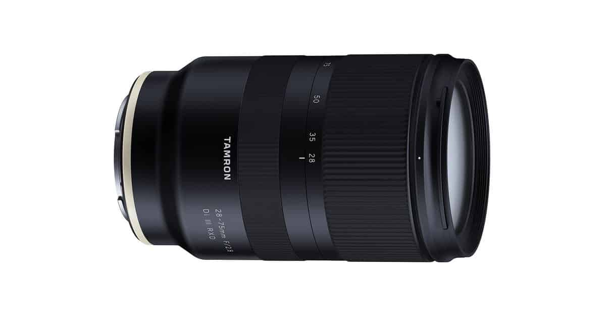 Tamron Announce the 28-75 F/2.8 Di III RXD FE in the US for Just $799!